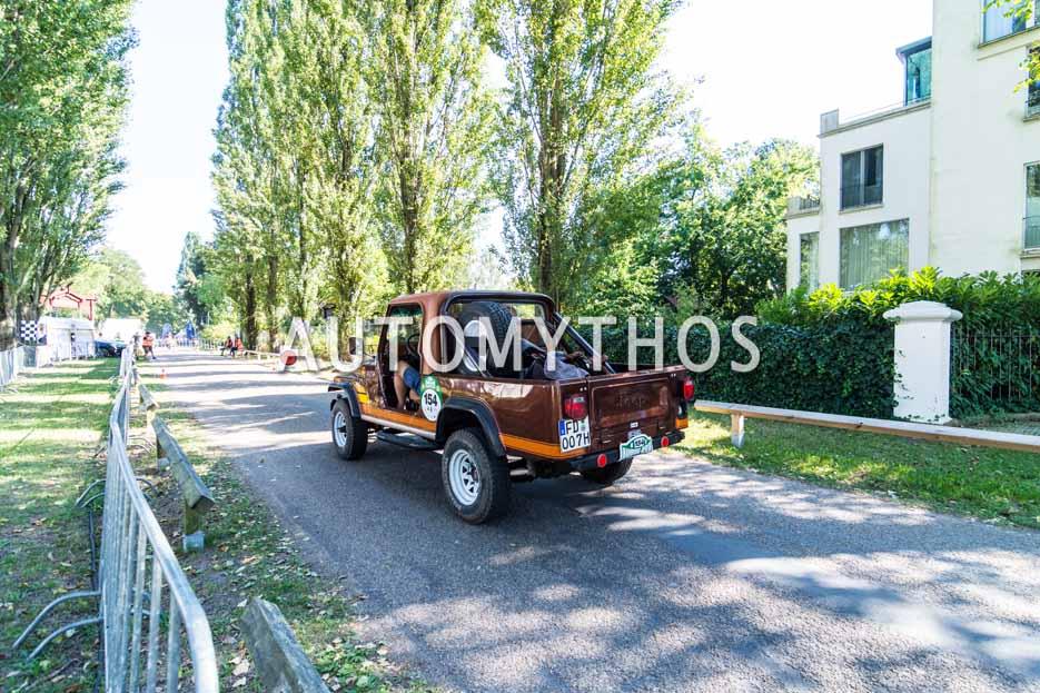 Automythos | 9. Hamburg Berlin Klassik 2016 | 154 | Christopher Posch & Peter Jakob | Jeep CJ-8 Scrambler