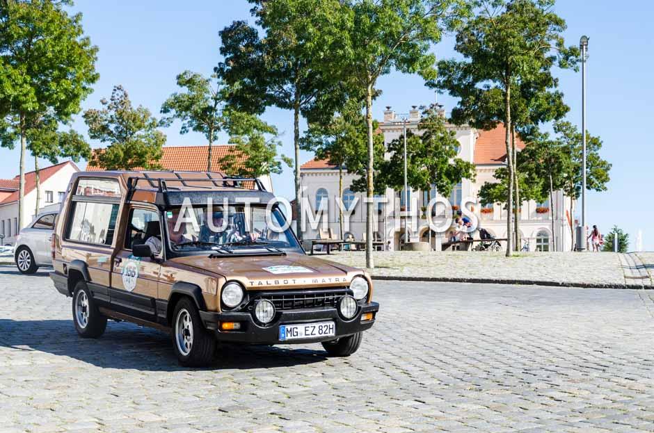 Automythos | 9. Hamburg Berlin Klassik 2016 | 155 | Peter Stanko & Horst Günther | Talbot-Matra Rancho