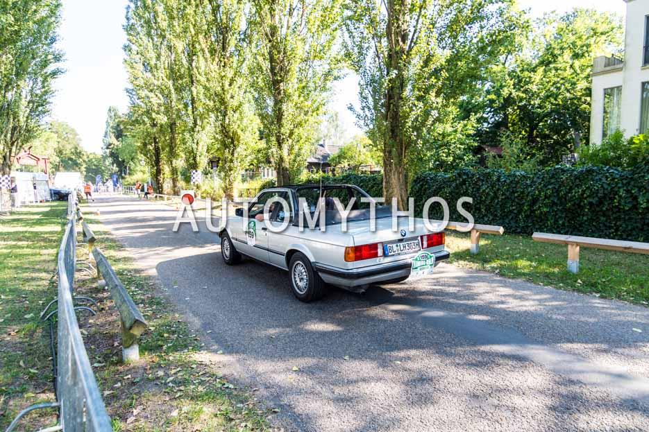 Automythos | 9. Hamburg Berlin Klassik 2016 | 159 | Johannes Bitzer & Ursula Bitzer | BMW 325e Baur TC2 Cabriolet
