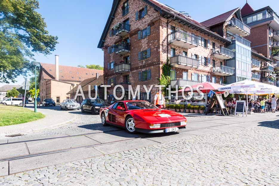 Automythos | 9. Hamburg Berlin Klassik 2016 | 164 | Hans-Werner Rathjens & Ninja Rathjens | Ferrari Testarossa