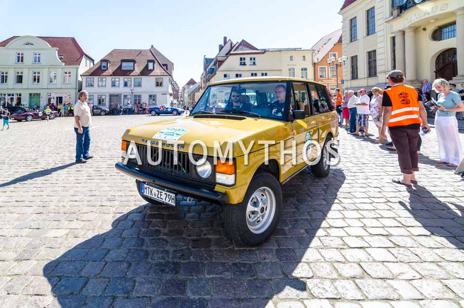 Automythos | 9. Hamburg Berlin Klassik 2016 | 165 | Bernhard Weinbacher & Mayk Wienkötter | Land Rover Range Rover Classic