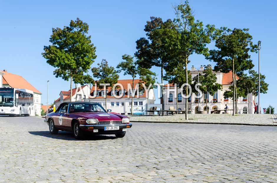 Automythos | 9. Hamburg Berlin Klassik 2016 | 166 | Bianca Dommes & Dr. Michael Dommes | Jaguar XJS Cabriolet