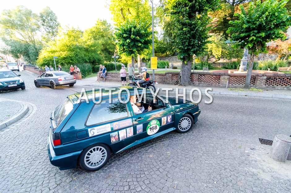 Automythos | 9. Hamburg Berlin Klassik 2016 | 168 | Ralf Neu & Bastian Lange | Volkswagen Rallye Golf G60