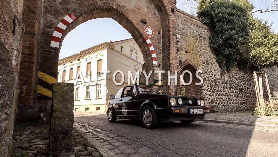 Automythos | 9. Hamburg Berlin Klassik 2016 | 170 | Stefan Schreyack & Claus Friedrich | Volkswagen Golf I Cabriolet