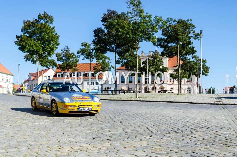 Automythos | 9. Hamburg Berlin Klassik 2016 | 181 | Richy Müller & Fabian Hoberg | Porsche 968 CS