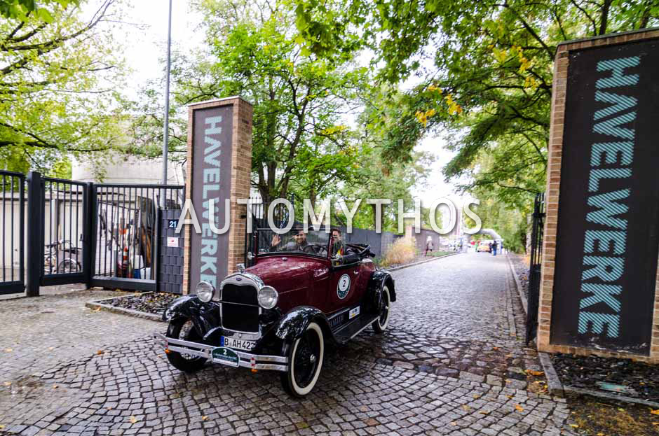 Automythos | 1. Herbstrallye des CRC 2016 | 2 | Alexander Haller & Oliver Danikas | Riley 12/4 Special & Ford A