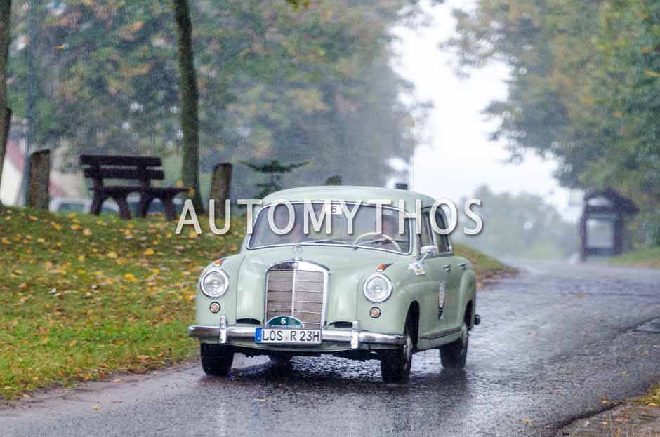 Automythos | 1. Herbstrallye des CRC 2016 | 6 | Rainer-Markus Schmitt & Rene Seeger | Mercedes-Benz Ponton 219