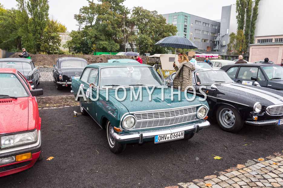 Automythos | 1. Herbstrallye des CRC 2016 | 15 | Frank Reetz & Manuela Abraham | Opel Rekord A