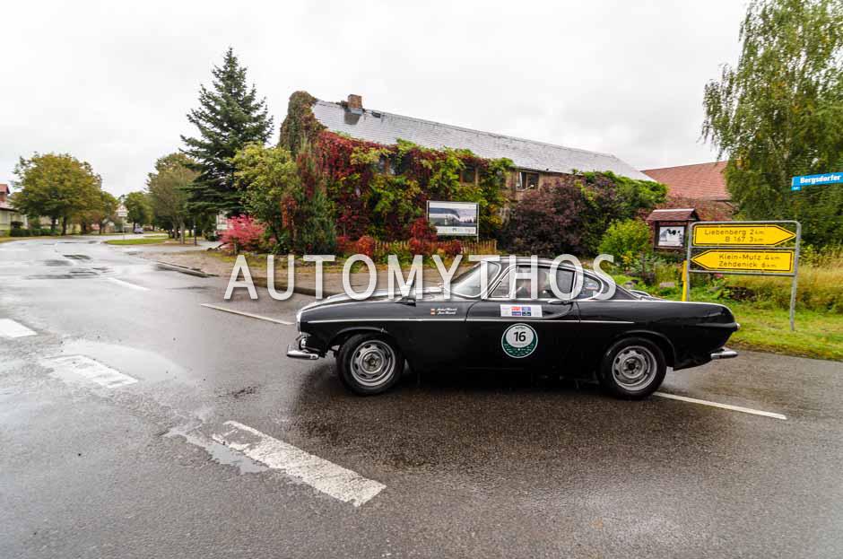 Automythos | 1. Herbstrallye des CRC 2016 | 16 | Anja Prager & Stefan Ludwig | Volvo P1800 Coupé