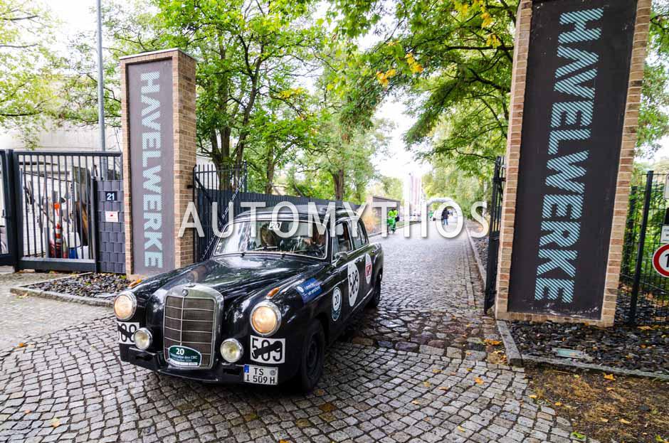 Automythos | 1. Herbstrallye des CRC 2016 | 20 | Norbert Genghammer & Marion Genghammer | Mercedes-Benz Ponton 220