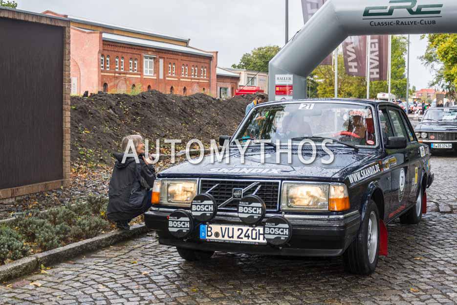 Automythos | 1. Herbstrallye des CRC 2016 | 21 | Günter Schmidt & Dr. Dirk Adam | Volvo 240