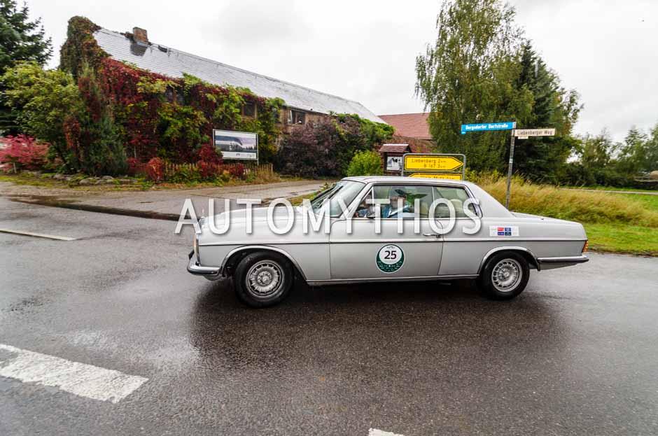 Automythos | 1. Herbstrallye des CRC 2016 | 25 | Jürgen Voigt & Thomas Bader | Mercedes-Benz W114 280CE