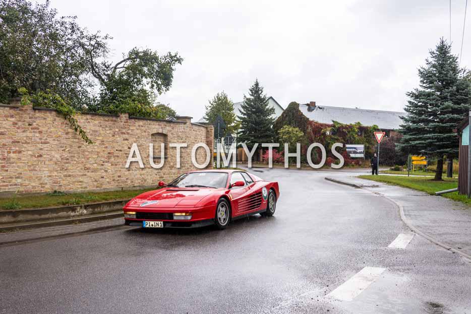 Automythos | 1. Herbstrallye des CRC 2016 | 31 | Hans-Werner Rathjens & Ninja Rathjens | Ferrari Testarossa