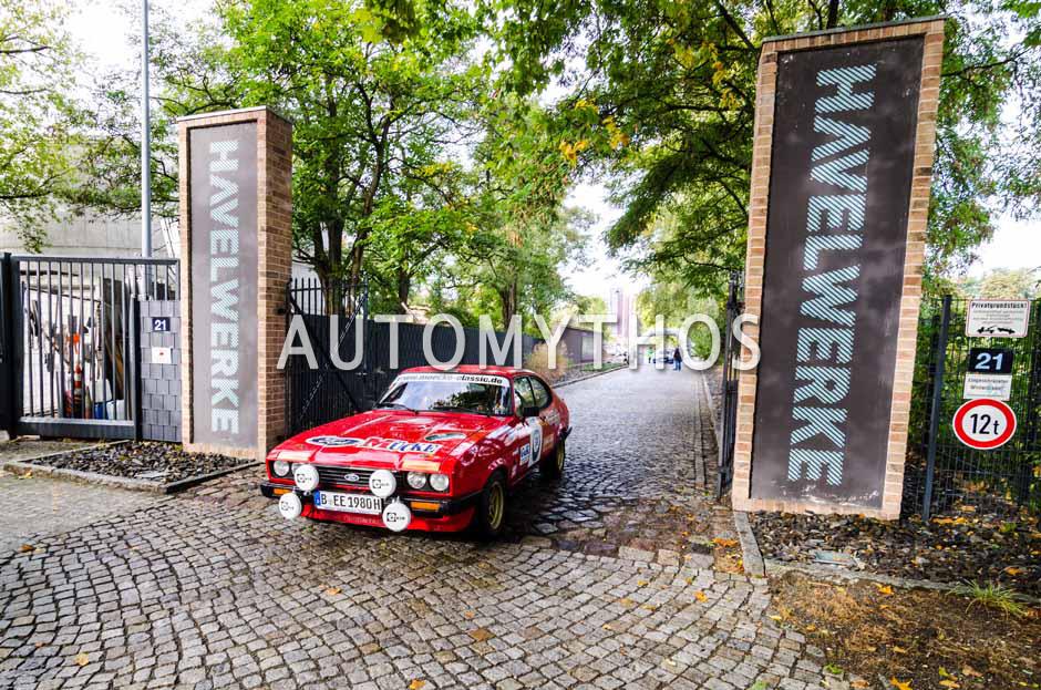Automythos | 1. Herbstrallye des CRC 2016 | 38 | Christian Rhinow & Flo Weiss | Ford Capri