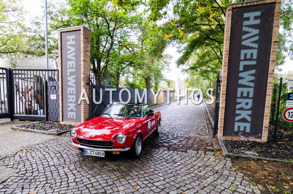 Automythos   1. Herbstrallye des CRC 2016   50   Axel Roewer & Bernd Stube   Fiat 124 Spider