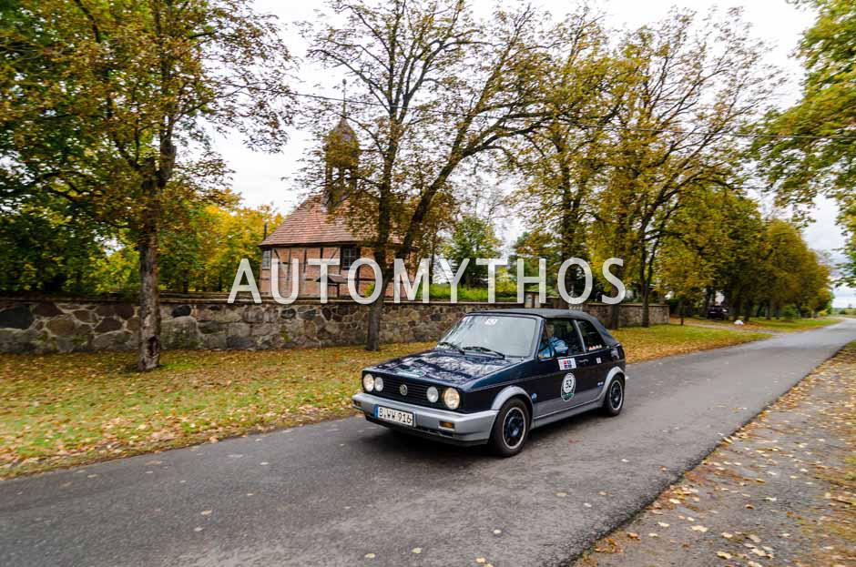 Automythos | 1. Herbstrallye des CRC 2016 | 52 | Jürgen Klingbeil & Armin-Matthias Schramm | Volkswagen Golf I Cabriolet