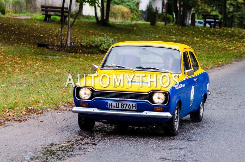 Automythos | 1. Herbstrallye des CRC 2016 | V1 | Gustav Hausmann & Olaf Jordan | Ford Escort 1300 GT
