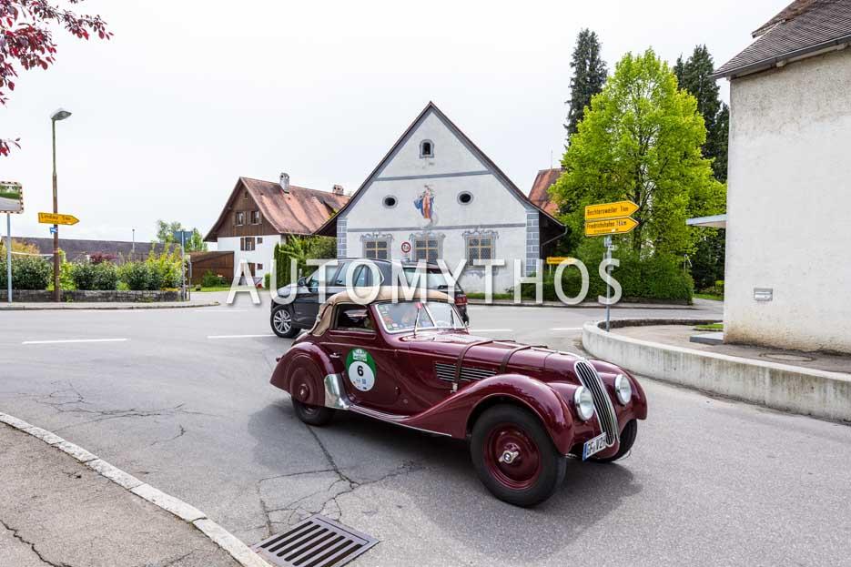 Automythos | 6. Bodensee Klassik 2017 | 6 | Otto Schloz & Christiane Staacke | BMW 328 Autenrieth Cabriolet