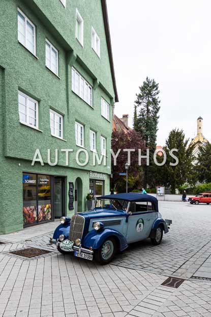 Automythos | 6. Bodensee Klassik 2017 | 8 | Christian Köppen & Gabriele Köppen | Opel Super 6 Cabriolet