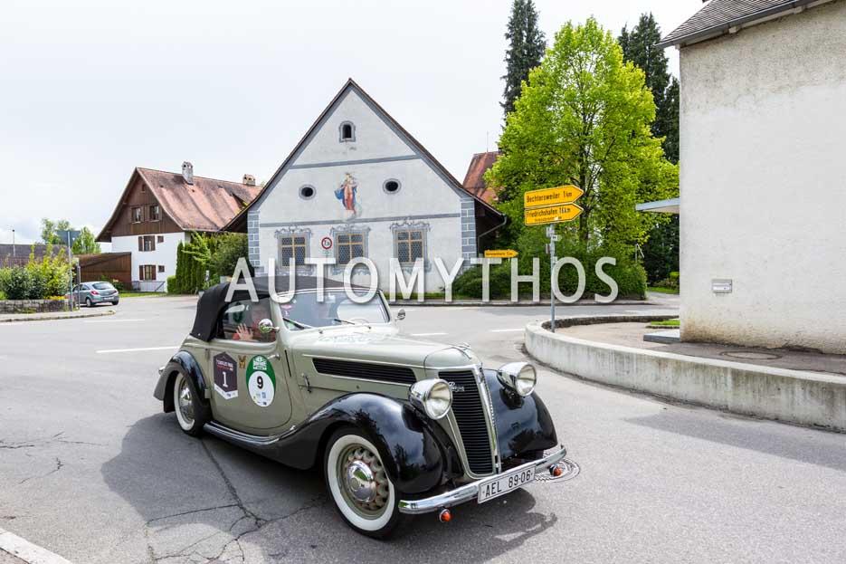 Automythos | 6. Bodensee Klassik 2017 | 9 | Otakar Chladek & Ruzena Baclerová | Praga 1128