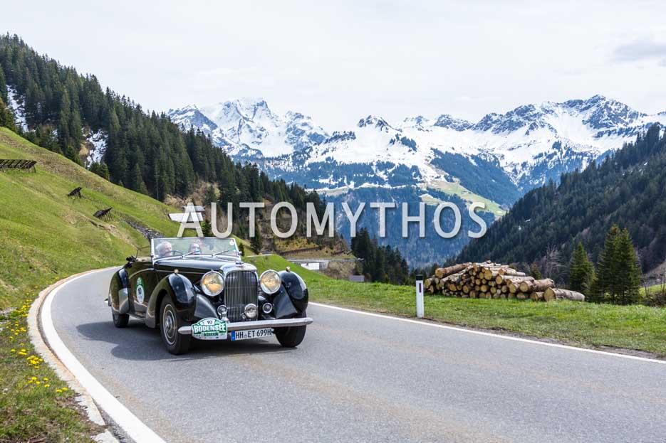 Automythos | 6. Bodensee Klassik 2017 | 10 | Eberhard Thiesen & Joachim von Finkenstein | Lagonda LG6 Rapid