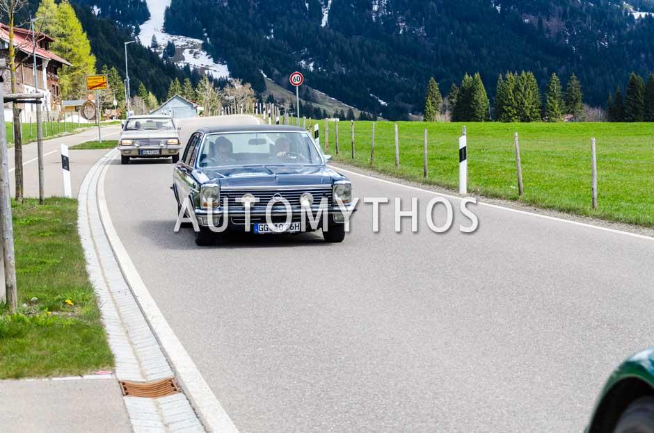 Automythos | 6. Bodensee Klassik 2017 | 11 | Peter Christian Küspert & Roman Knižka | Opel Diplomat B V8