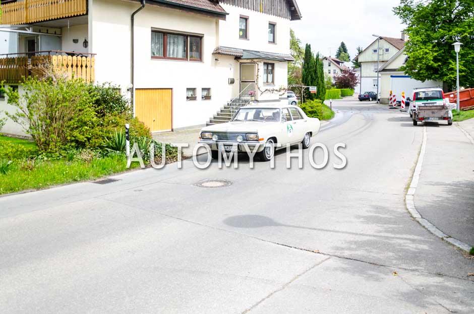 Automythos | 6. Bodensee Klassik 2017 | 12 | Joachim Winkelhock & Tim Wilde | Opel Kapitän A V8