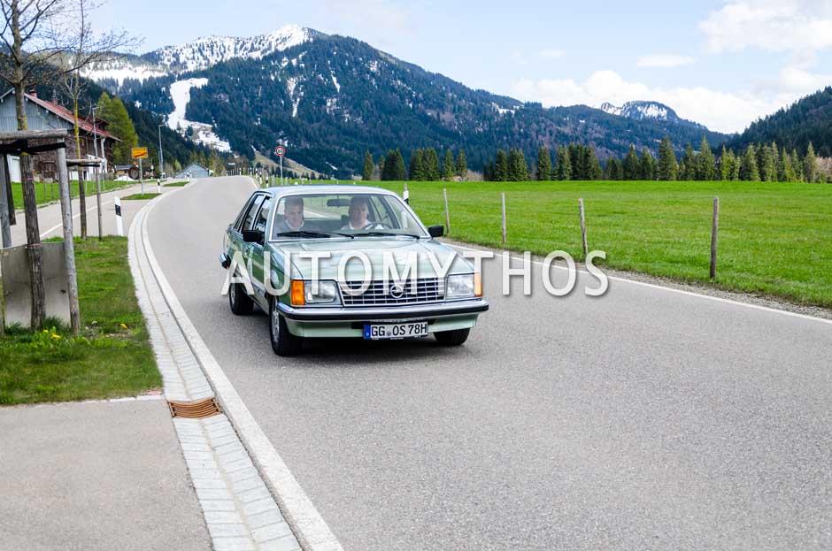 Automythos | 6. Bodensee Klassik 2017 | 13 | Harald Hamprecht & Robin Hornig | Opel Kapitän & Opel Senator