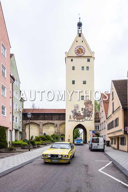 Automythos | 6. Bodensee Klassik 2017 | 16 | Dr. Gereon Wischerhoff & Michael Kretzschmar | Opel Commodore B GS/E