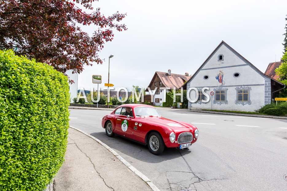 Automythos | 6. Bodensee Klassik 2017 | 17 | Jiri Langer & Heike Langer | Cisitalia 202 SC