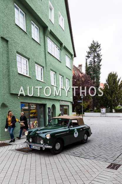 Automythos | 6. Bodensee Klassik 2017 | 19 | Matthias Hübener & Jutta Hübener | Austin A40 Sports