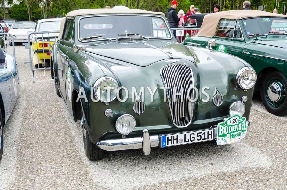 Automythos | 6. Bodensee Klassik 2017 | 20 | Stefan Wulff & Christin Quack-Wulff | Lagonda 2.6. Convertible & Lancia Appia