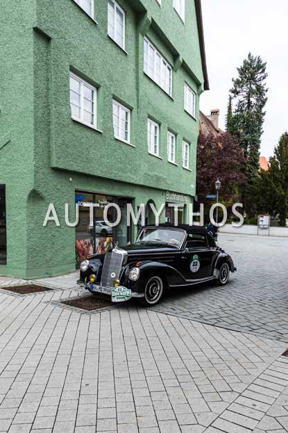 Automythos | 6. Bodensee Klassik 2017 | 22 | Christian Düllberg & Manfred Düllberg | Mercedes-Benz 220a Cabriolet