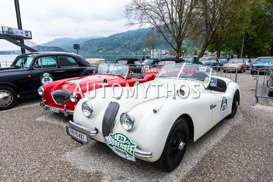 Automythos   6. Bodensee Klassik 2017   23   Dr. Kurt Wiederin & Michael Wiederin   Jaguar XK120 OTS SE