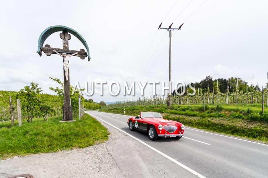 Automythos | 6. Bodensee Klassik 2017 | 24 | Andreas Bickel & Bernhard Sonderer | Austin-Healey 100 BN1 L