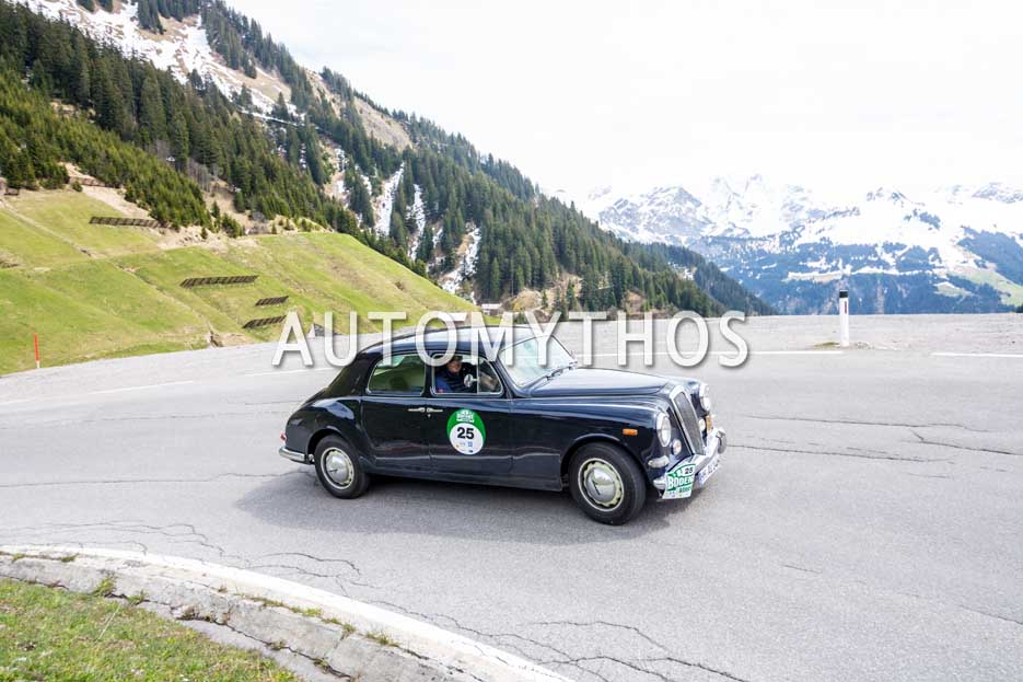 Automythos | 6. Bodensee Klassik 2017 | 25 | Pieter Wasmuth & Andrea Wasmuth | Lancia Aurelia B12