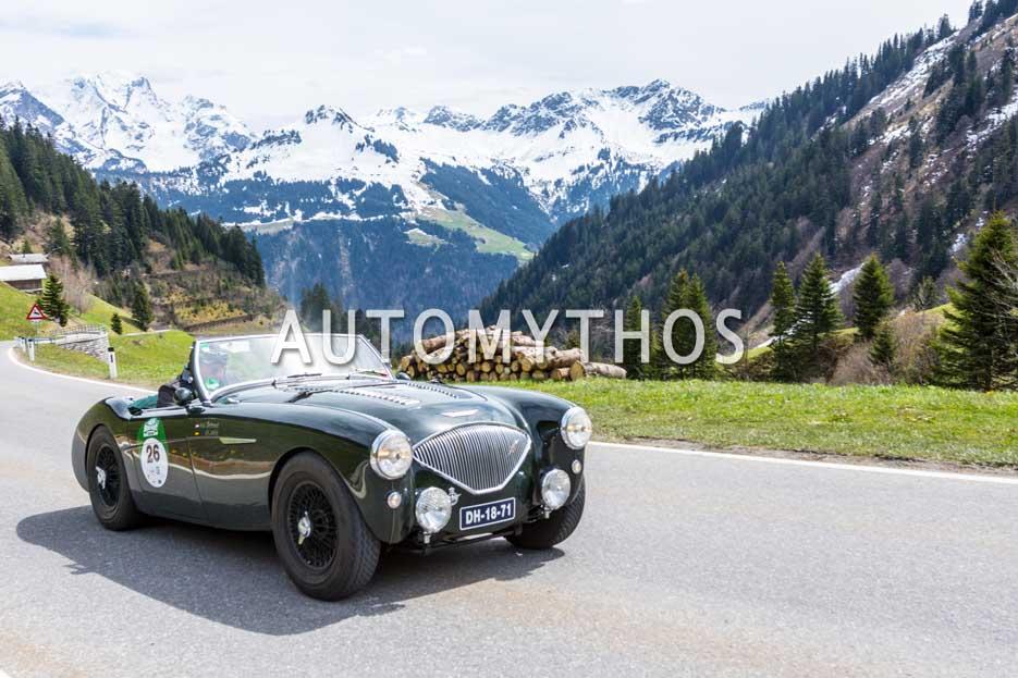 Automythos | 6. Bodensee Klassik 2017 | 26 | Reiner Löslein & Marcel Botterweck | Austin-Healey 100/4 Le Mans