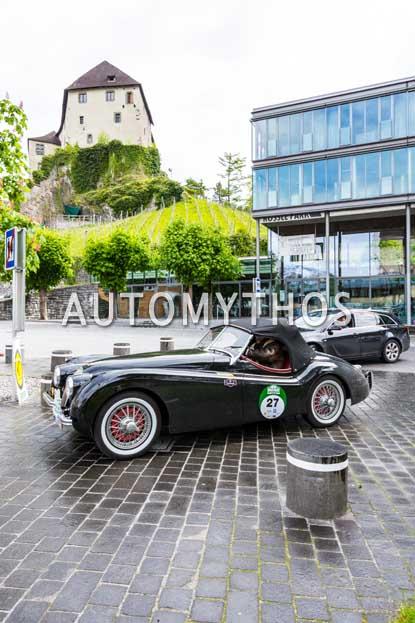 Automythos | 6. Bodensee Klassik 2017 | 27 | Dr. Eberhard Arnold & Susanne Herwig | Jaguar XK120 OTS