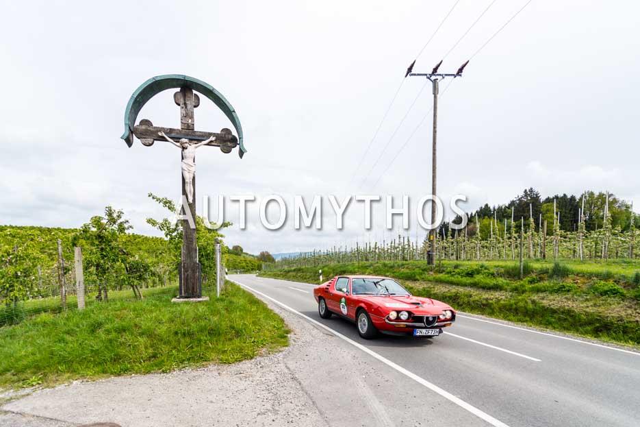 Automythos | 6. Bodensee Klassik 2017 | 28 | Thomas Wenzel & Bernd Wieland | Alfa Romeo Montreal