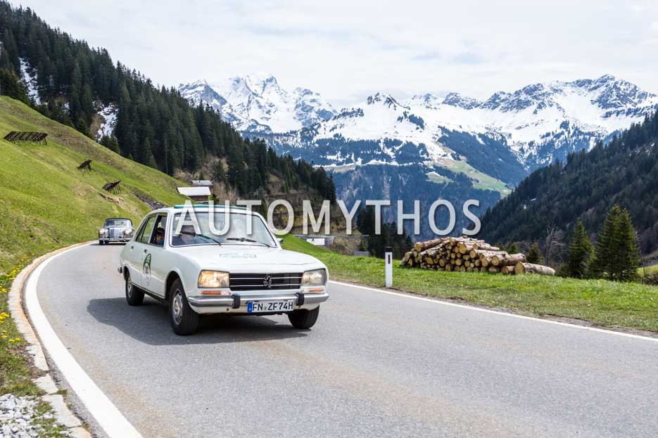 Automythos | 6. Bodensee Klassik 2017 | 30 | Dr. Holger Klein & Dr. Holger Hättich | BMW 2000 C & Peugeot 504
