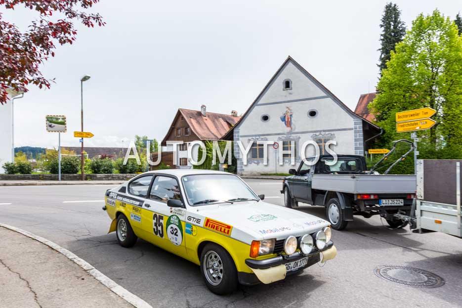 Automythos | 6. Bodensee Klassik 2017 | 32 | Björn Habegger & Sarah Elßer | Opel Kadett C GT/E