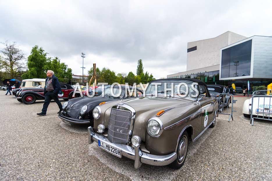Automythos | 6. Bodensee Klassik 2017 | 34 | Manfred Biesinger & Jochen Sutterlitte | Mercedes-Benz 220 S Cabriolet