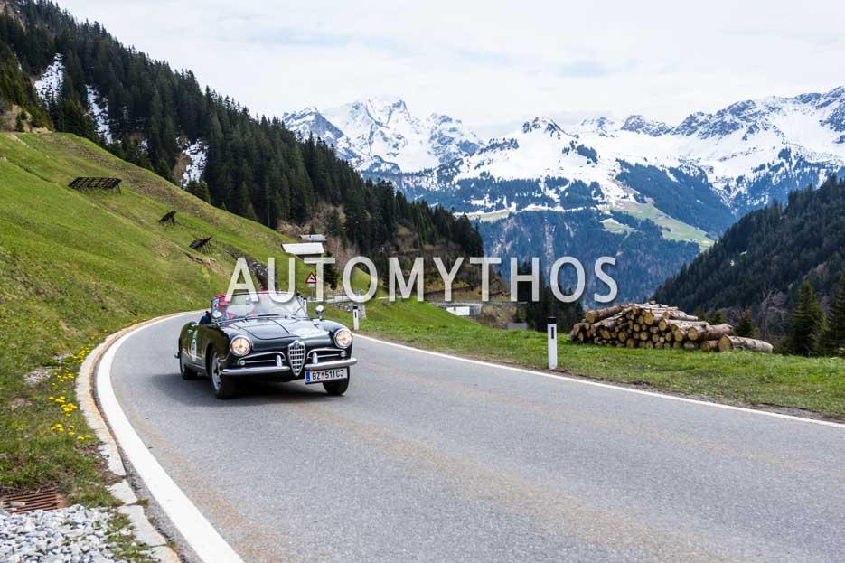Automythos | 6. Bodensee Klassik 2017 | 37 | Milko Agueci & Yvonne Grabher-Agueci | Alfa Romeo Giulietta Spider