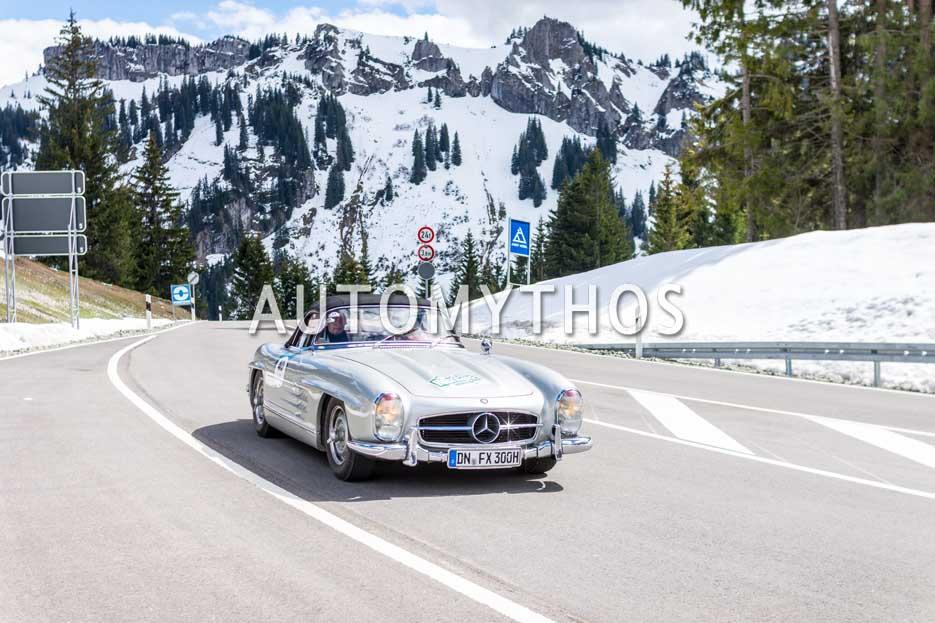 Automythos | 6. Bodensee Klassik 2017 | 40 | Werner Reifferscheidt & Wolfgang Obladen | Mercedes-Benz 300 SL Roadster