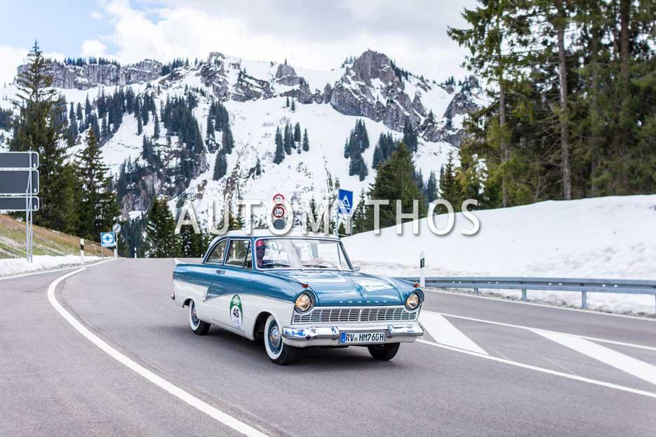 Automythos | 6. Bodensee Klassik 2017 | 45 | Franz Huber & Markus Böhm | Ford Taunus 17M P2