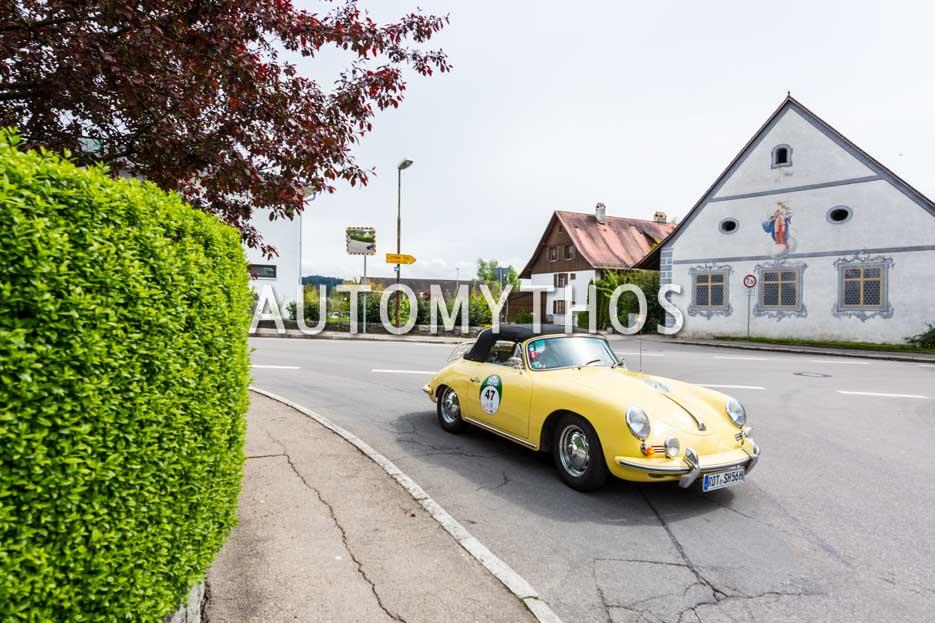 Automythos | 6. Bodensee Klassik 2017 | 47 | Friedrich Ströbel & Hildegard Ströbel | Porsche 356 B Cabriolet