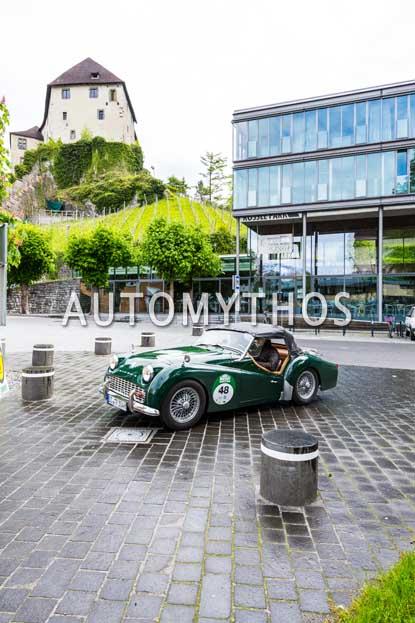 Automythos | 6. Bodensee Klassik 2017 | 48 | Rainer Teders & Marcus Heine | Triumph TR3A