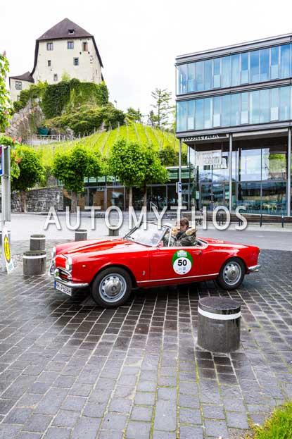 Automythos | 6. Bodensee Klassik 2017 | 50 | Michael Pitsch & Christina Pitsch | Alfa Romeo Giulietta Spider