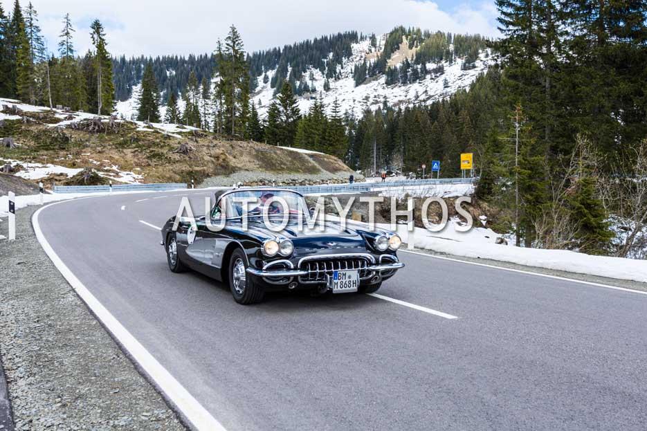 Automythos | 6. Bodensee Klassik 2017 | 51 | Olaf Meyers & Susanne Meyers | Chevrolet Corvette