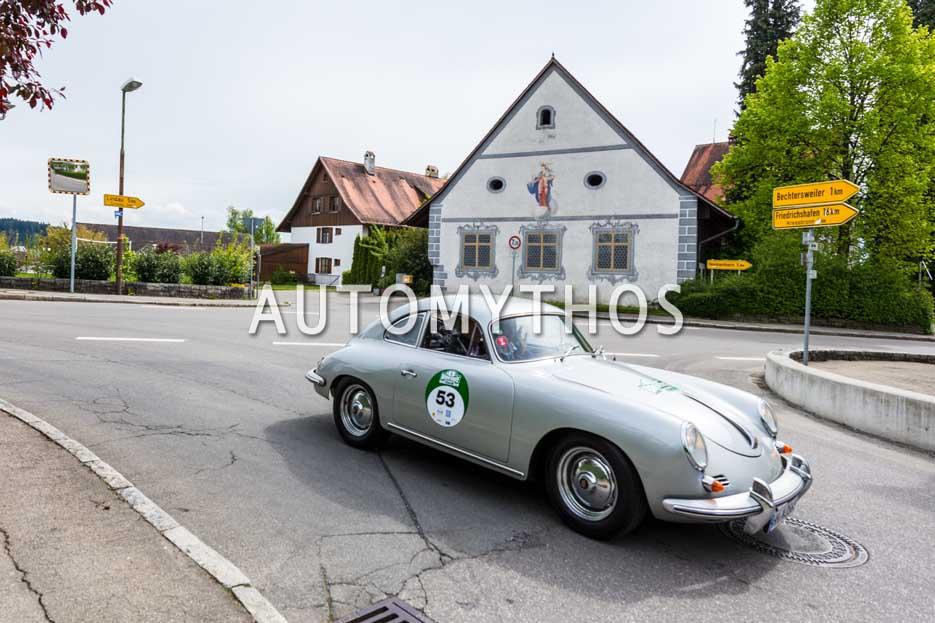 Automythos | 6. Bodensee Klassik 2017 | 53 | Rainer Penning & Dr. Janot Marleschki | Porsche 356 B Super 90